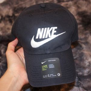 NWT Nike Washed Futura Black Baseball Hat